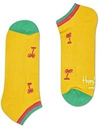 Happy Socks Palm Beach Athletic Trainer Chaussettes Hommes, Jaunes