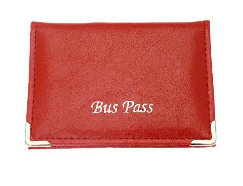 Weiche farbige Bus / Zug Pass / ID / Card Inhaber mit Zip Up Münze Reiseabteilung - Farbe B - Bitte Hinweis Preis ist für einen Kartenhalter.