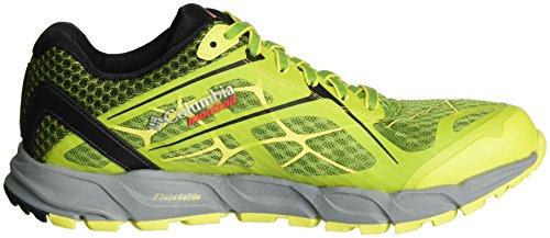 Columbia BM4571, Scarpe da Trail Running Uomo Giallo (New Leaf Green/zour 924)