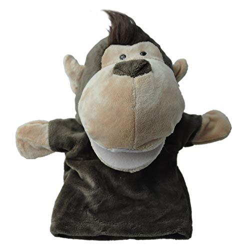 SODIALR Marionetas mano animales terciopelo felpa