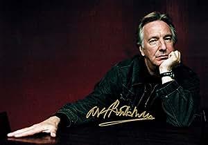 Alan Rickman Signé Alan Rickman 20,3x 30,5cm meilleurs prix Autographe photo photo Film