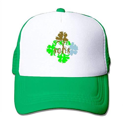 Zhgrong Caps Seasons3 Big Foam Mesh Hat Mesh Back Adjustable Cap Baseball Hats Camo Mesh-back Baseball Kappe