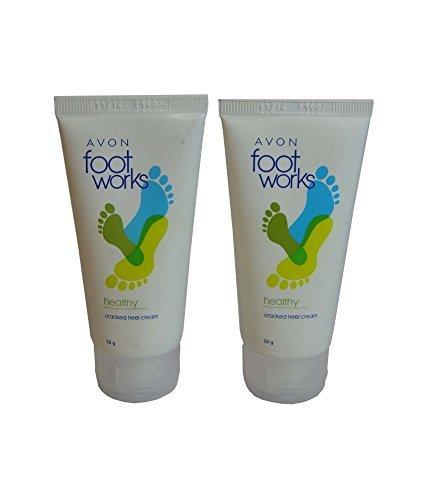 Avon Foot Work Cracked Heel Cream (set Of 2) 50g each