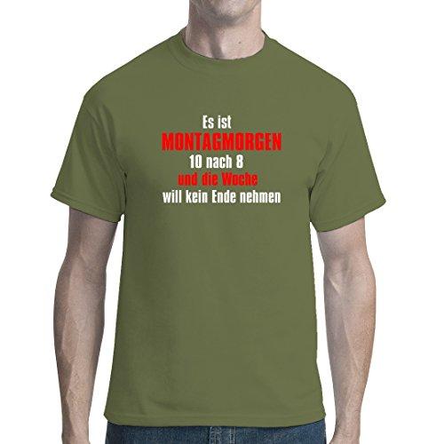 Army Military unisex T-Shirt - Montagmorgen by Im-Shirt - Oliv XXL