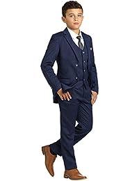 Cinda 5 St/ück Boy Anz/üge Hochzeit Anzug Junge Seite Partei-Abschlussball Klagen