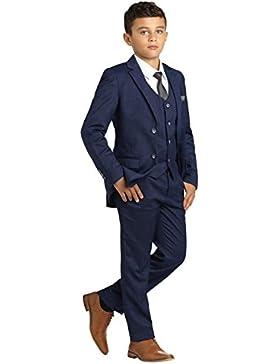 Paisley of London, Muchachos Azul Marino traje, traje de niños Check, Slim Fit Suit, Página Chico Trajes, 1–...