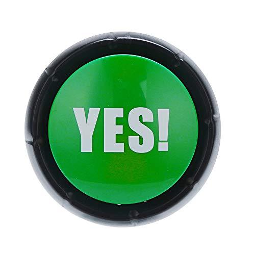 Bulls**t Button Button Sound Buzzer Positive Vibes , Vovotrade Ja Nein Tut Mir leid Vielleicht Button Sound Button Gag Spielzeug Prank Party Tool (1-4 Stück) (C) -