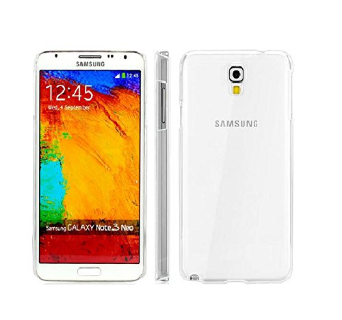 RKA Crystal Clear Transparent Hard Back Case Cover for Samsung Galaxy Note 3 Neo N7505