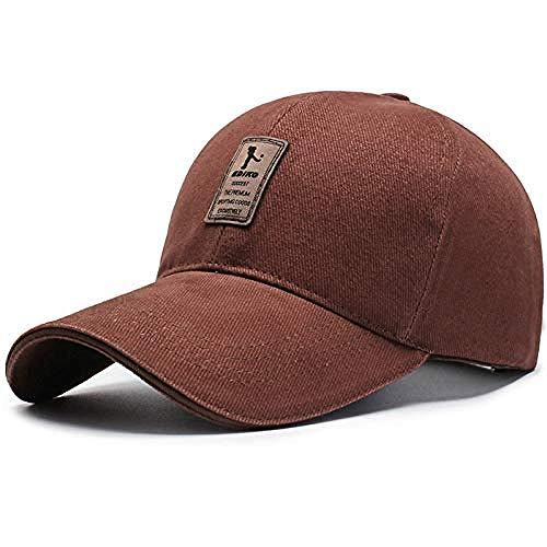 DWcamellia Hut 7 Farbe Männer S Golf Hut Basketball Hut Baumwolle Cap Männer S Baseball Cap Männer und Frauen Hut Hut , Deep_Coffee