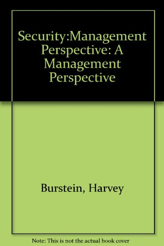 Security:Management Perspective: A Management Perspective