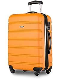 Travelhouse Suitcase Travel Luggage Locks Hard Shell Lightweight 4 Wheel Suitcas