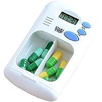Wawer Mini Tragbare Pillendose Digitalen Wecker Erinnerung Wecker Erinnerung Pillenbox Tablettenbox für Pillen... preisvergleich bei billige-tabletten.eu