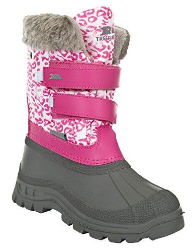Trespass Unisex-Kinder Vause Schneestiefel Pink (Bright Pink Sprint)