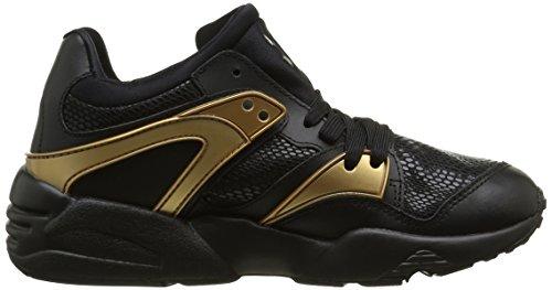 Puma Blaze Gold, Baskets Basses Femme Noir (Black/Black)