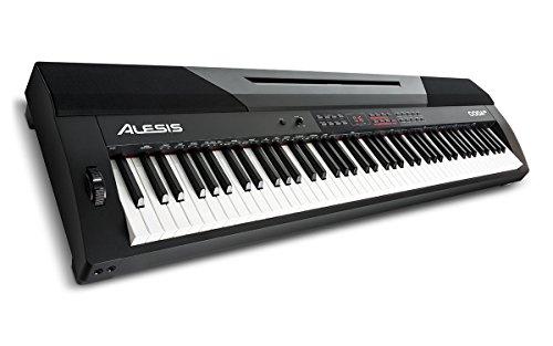 Alesis CODA PRO Digitalpiano mit 88 gewichteten Tasten mit Hammertechnik