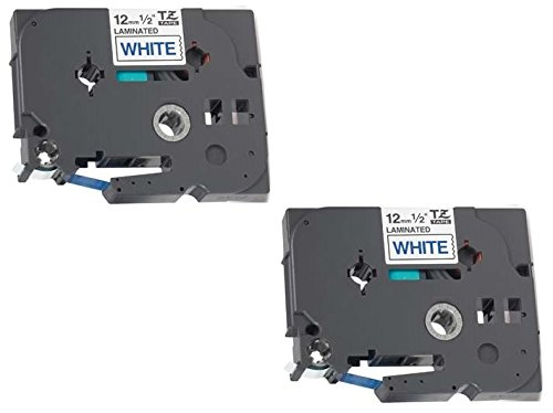 2 Compatibili Cassettes TZe-233 TZ-233 blu su bianco 12mm x 8m Nastri laminati per Brother P-Touch PT-1000 1005 1010 3600 9600 D200 D210 D210VP D450VP D600VP E100 H101C H105 H110 H300 H500 P700 P750W