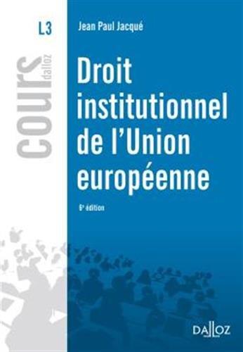 droit-institutionnel-de-l-39-union-europenne
