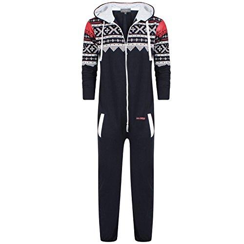 Oska Onesie Kids Youths Boys Unisex Original 1on1 Aztec Print Zip Up Onesie Hooded Jumpsuit Sleep Wear all in one Playsuit