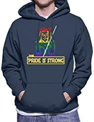 Star Wars Jedi Knight Cat The Pride Is Strong Men's Hooded Sweatshirt