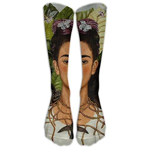 UFHRREEUR Unisex Frida Kahlo.jpg Crew Fashion Novelty Socks