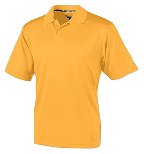 Champion Double Dry Mens Solid-Color Polo Shirt C/Gold