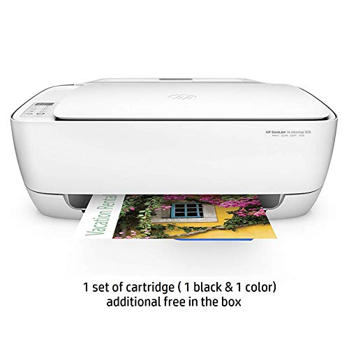 HP DeskJet 3636 All-in-One Ink Advantage Wireless Colour Printer