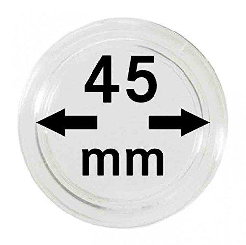 Lindner S22704500P Münzkapseln 45.00 mm-10er Pack