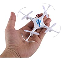 FPVRC K8 Mini RC Drone 2.4G 4CH Nano Quadcopter with Headless Mode, 360 Degree Rolling, One Key to Return and LED Light