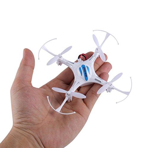 Mini RC Quadcopter, FPVRC K8 2.4G 4 CH Nano Drone con modo...