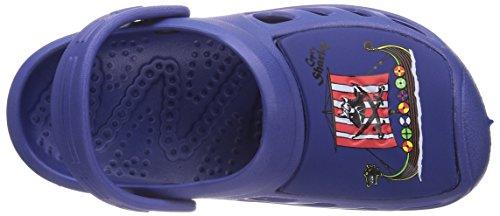 Capt'n Sharky 170100 Jungen Clogs Blau (Blau)