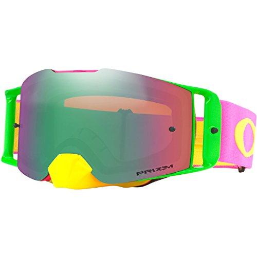 Oakley Crossbril Front Line MX Flo Pink Yellow/PRIZM™ Jade - Von Oakley Linsen Jade