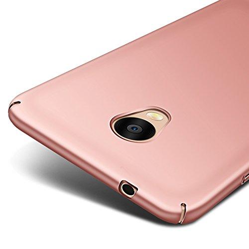 Oro Rosa Ultra Sottile Custodia Cover Case + Pellicola Protettiva Per Meizu M5s (Non compatibile con Meizu M5) Vooway® MS70315