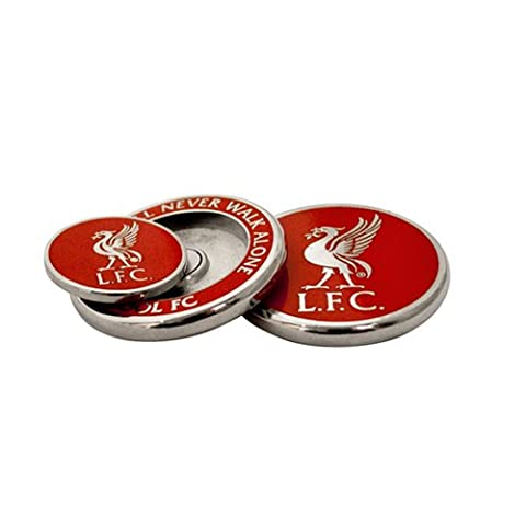 Liverpool Duo Golf Ball Marker - Red