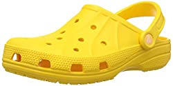 Crocs Unisex Ralen Clog Yellow Rubber Clogs and Mules - M5W7