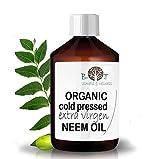 Huile de Neem Native Première Pression à Froid 100% Pure Non Raffinée (100 ml) Concentrée - jardin, moustiques, soin peau acnéique. Diluer avant utilisation. Odeur spécifique.