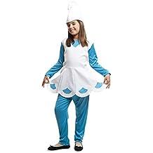 viving disfraz duende azul aos