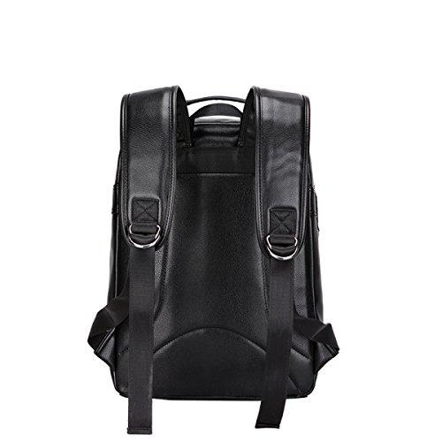 LAIDAYE Qualität Mode Für Männer Reisen Rucksack Schultertasche Rucksack Reisetasche Black
