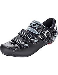 SIDI Genius 7 - Zapatillas de Ciclismo para Hombre, Color Negro Oscuro, Talla 46