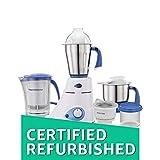(Certified REFURBISHED) Preethi Blue Leaf Platinum MG 139 750-Watt Mixer Grinder with Jar (Blue)