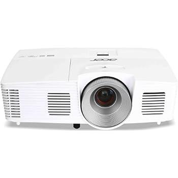 Acer H5380BD 3D DLP-Projektor (3D-fähig direkt über HDMI 1.4a, 144Hz Triple Flash 3D, Kontrast 13.000:1, 3.000 ANSI Lumen, Native 720p, 1.280 x 720, MHL) weiß