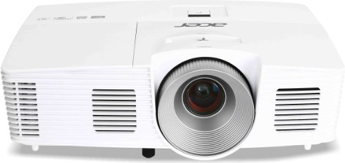 Foto Acer H5380BD Proiettore, Risoluzione 720P, Contrasto 17.000:1, Luminosità 3.000 ANSI, VGA/HDMI/MHL, Bianco