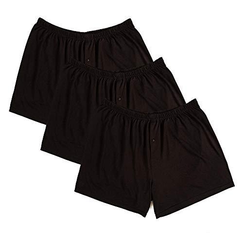 merican Boxershorts - Übergrößen bis 10XL / Black/Black/Black, 14 / 5XL ()