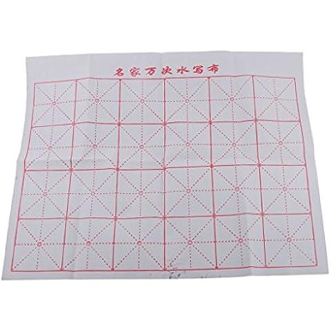 Caligrafía China del Kanji de Pintada Cuadriculada Paño Tela Mágico del Agua de Escritura - #3