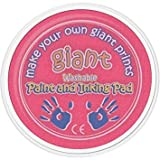 AP Pink Giant Paint Inking Pad Ideal for Childrens Hand Foot Prints with Anim