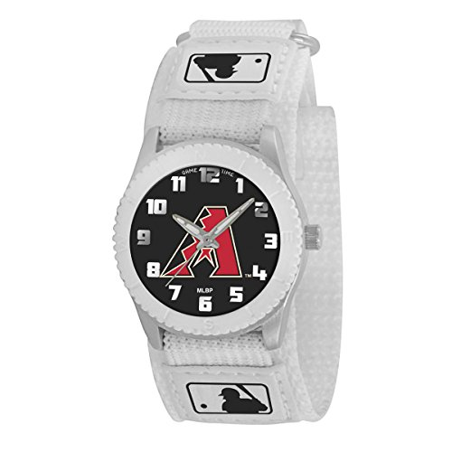 game-time-juventud-mlb-novato-blanco-reloj