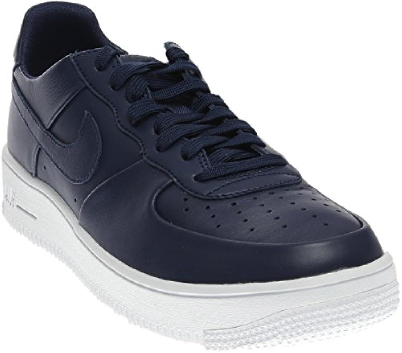 Nike Air Force 1 UltraForce Leather 845052 402 Binary Blue/White/Binary Blue (10.5)