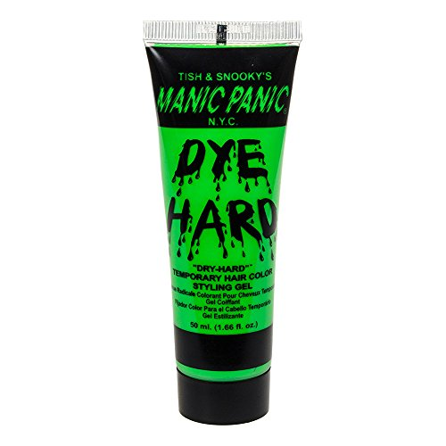 Manic Panic Dye Hard Gel Coiffant Coloré Pour Cheveux (Vert Lézard Electrique)