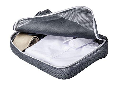 Wenko 3 x Ordnung für Koffer oder Reisetasche