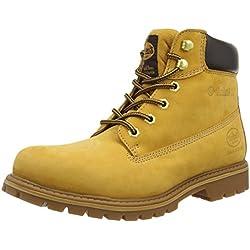 Dockers 35CA001-300910, Botas Militar para Hombre, Beige (Golden Tan 910), 42 EU