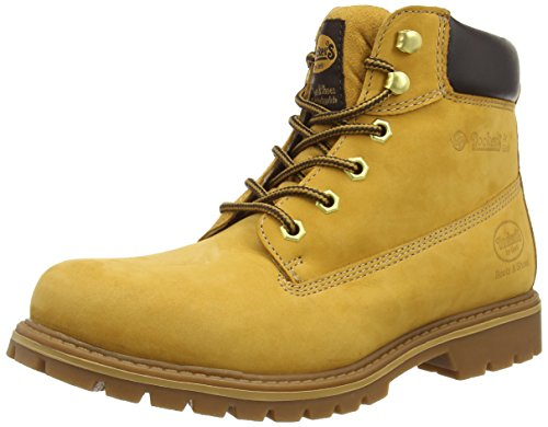 Dockers by Gerli 35CA001-300910, Herren Action Boots, Gelb (Golden Tan 910), 42 EU